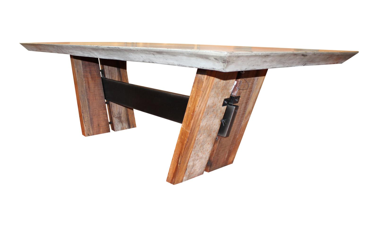 Concrete Top Dining Tables Concrete Dining Table Zaksons